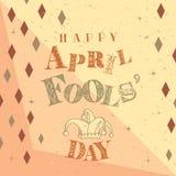 Happy Fools` Day Royalty Free Stock Photos