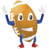 Happy football Stock Images