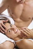 Happy foreplay Royalty Free Stock Image