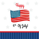 Happy fourt of july Stock Photo