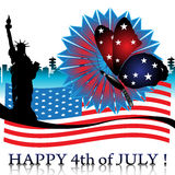 Happy Fourth of July Royalty Free Stock Photos