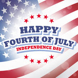 Happy fourth of july - independence day.  Royalty Free Stock Images