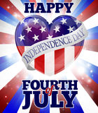 Happy Fourth of July Independence Day Royalty Free Stock Photography