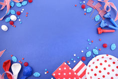 Happy Fourth of July Party Background. Royalty Free Stock Photo