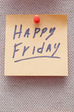Happy Friday Royalty Free Stock Images
