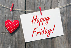 Happy Friday Sign Royalty Free Stock Image