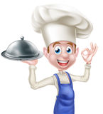 Happy Friendly Cartoon Chef Royalty Free Stock Photo