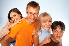 Happy friends Stock Photo