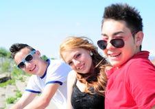 Happy friends Stock Image