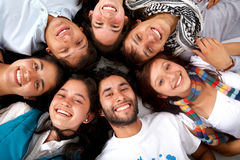 Happy friends Stock Photography