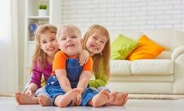 Happy friends Royalty Free Stock Photo