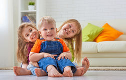 Happy friends Royalty Free Stock Images