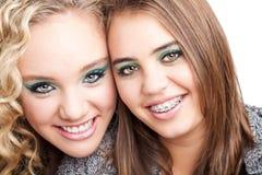 Happy friends Stock Photos