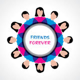 Happy Friendship Day Greeting Royalty Free Stock Photo