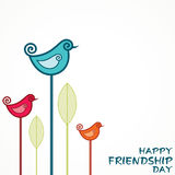Happy Friendship Day Greeting Royalty Free Stock Photography