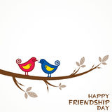 Happy Friendship Day Greeting Stock Photography