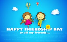 Happy Friendship Day Stock Image