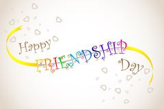 Happy Friendship Day Stock Photography