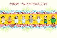 Happy Friendship Day Royalty Free Stock Images
