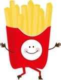 Happy Fries Stock Image