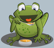 Happy Frog Royalty Free Stock Photo
