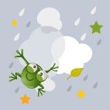 Happy frog Royalty Free Stock Photos
