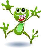 Happy frog Stock Images
