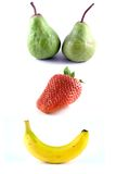 Happy Fruit Royalty Free Stock Photos