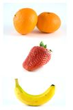 Happy Fruit Stock Images