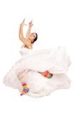 Happy fun bride Stock Photography