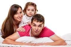 Happy fun family Royalty Free Stock Photo