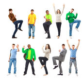 Happy Funny People Stock Image