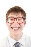 Happy and Funny Teenager portrait Royalty Free Stock Images