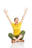 Happy funny woman Stock Photo