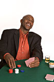 Happy gambler Royalty Free Stock Photography