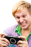 Happy Gaming Royalty Free Stock Photo