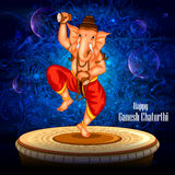 Happy Ganesh Chaturthi background Royalty Free Stock Photography