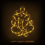 Happy Ganesh Chaturthi. Royalty Free Stock Photo