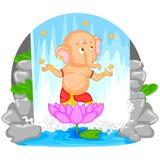 Happy Ganesh Chaturthi Stock Photo