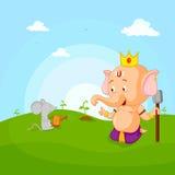 Happy Ganesh Chaturthi Royalty Free Stock Image