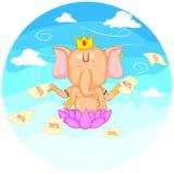 Happy Ganesh Chaturthi sale offer Royalty Free Stock Photos