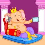 Happy Ganesh Chaturthi sale offer Stock Image