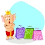Happy Ganesh Chaturthi sale offer Royalty Free Stock Photo