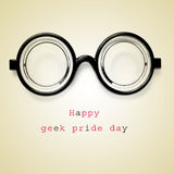 Happy geek pride day Stock Images