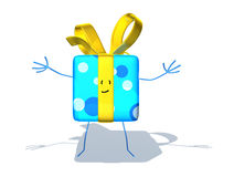 Happy gift Stock Photo