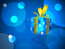 Happy gift Royalty Free Stock Photo