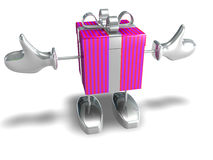 Happy Gift Stock Images