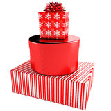 Happy Gift Boxes Set Royalty Free Stock Photo