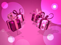 Happy gifts Stock Photo