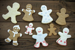Happy Ginger Bread Community Royalty Free Stock Photography